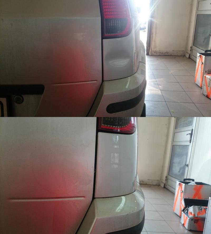 Usuwanie wgnieceń parkingowych